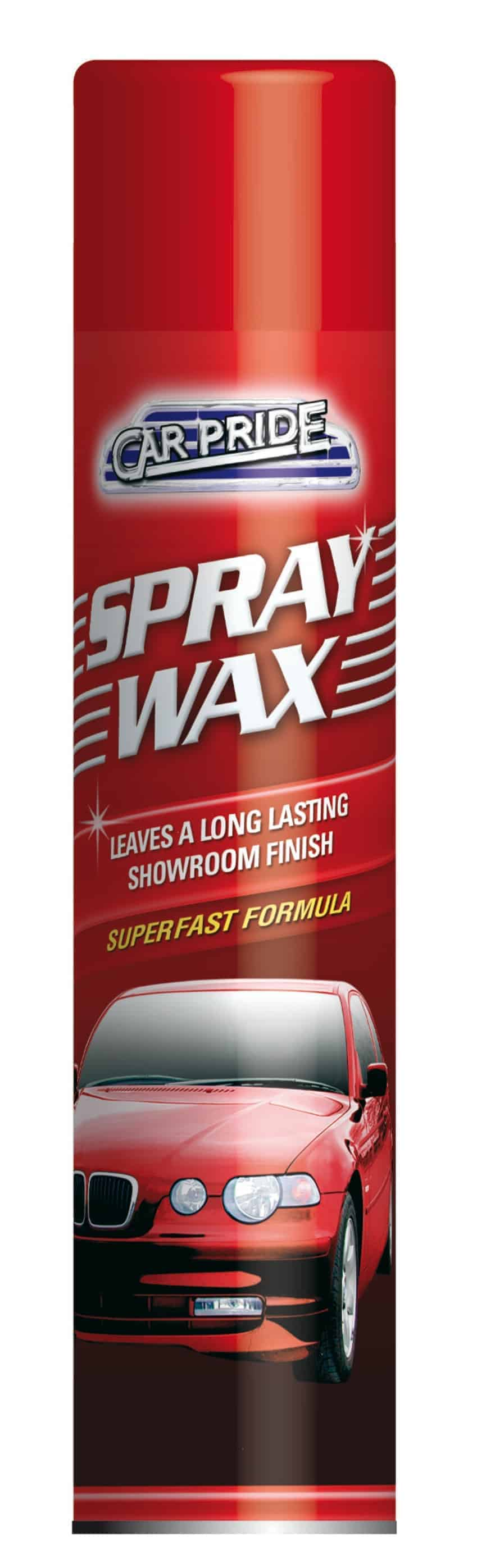 Car Pride Spray Wax
