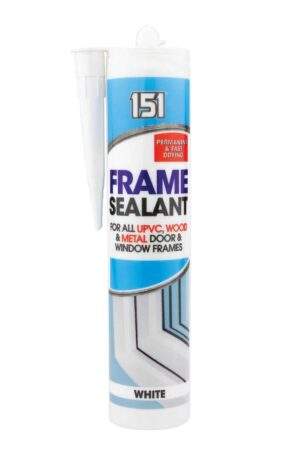 151 White Frame Sealant For all UPVC, Wood and Metal Door and Window Frames