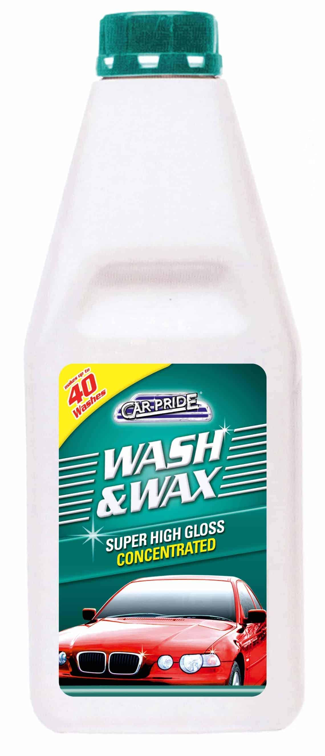 Carpride 1ltr Wash & Wax