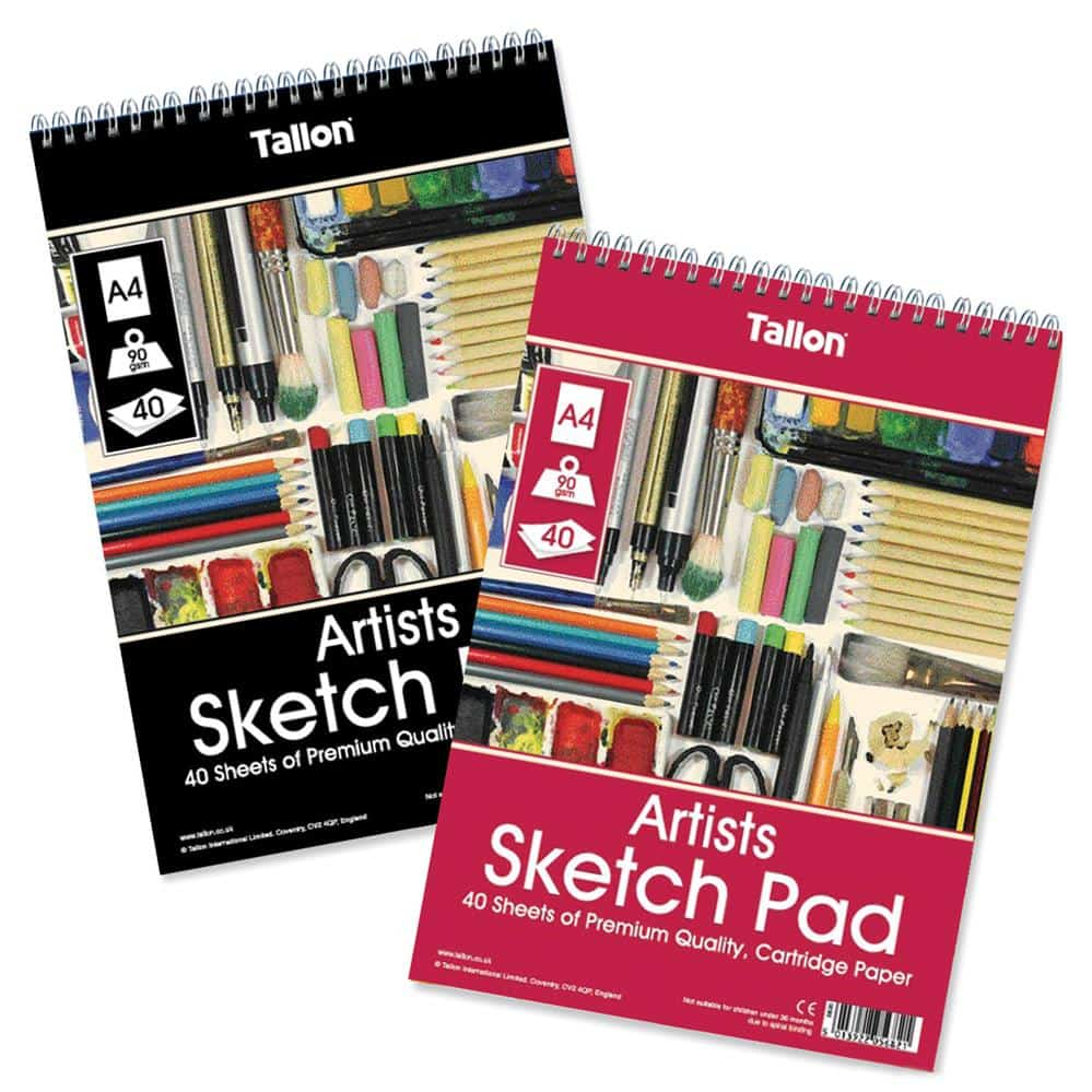 A4 Sketch Pad-40 Sheet