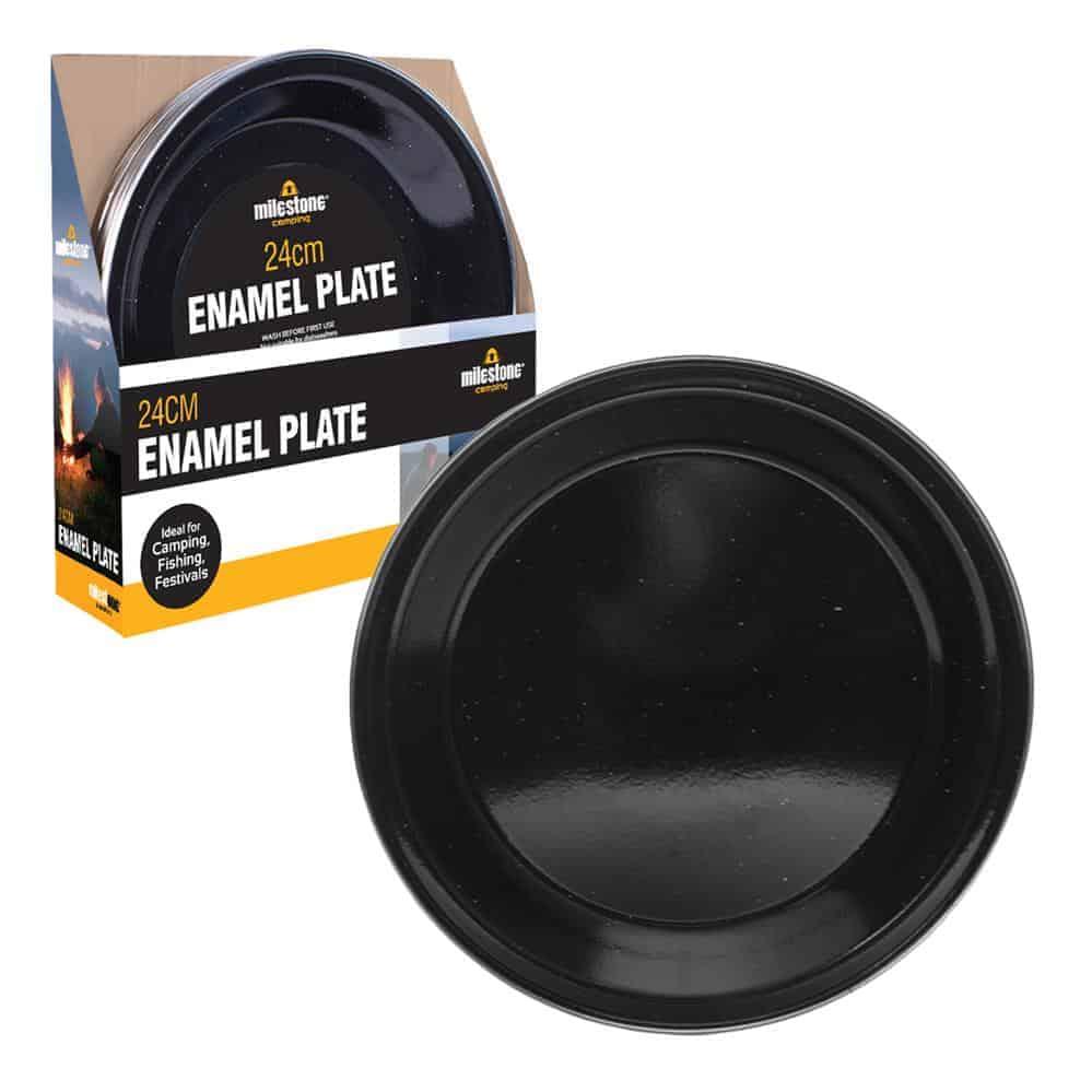 24Cm Enamel Plate