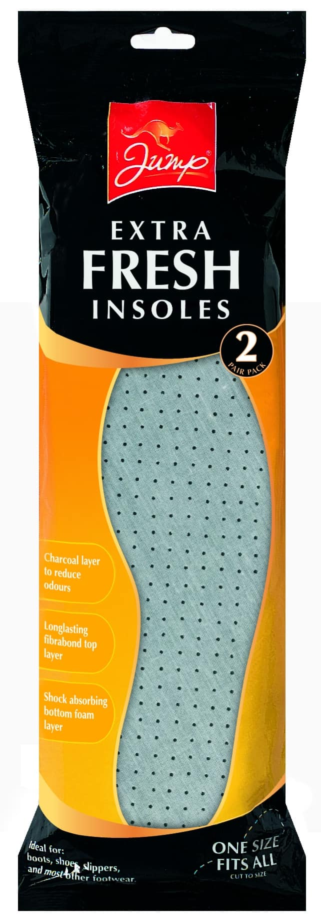 Jump 2 Pack Boot & Shoe Fresh Insoles