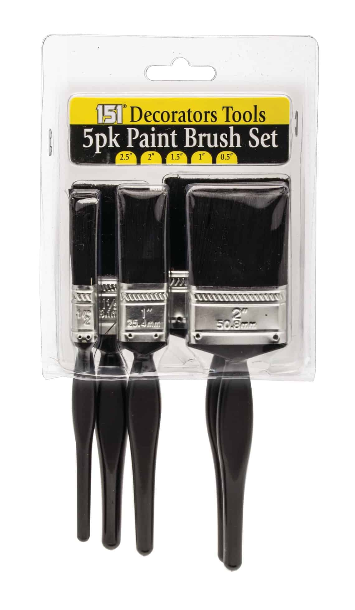 151 Products 5pc Paint Brushes