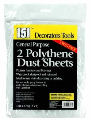 151 Products 2pk Dustsheets
