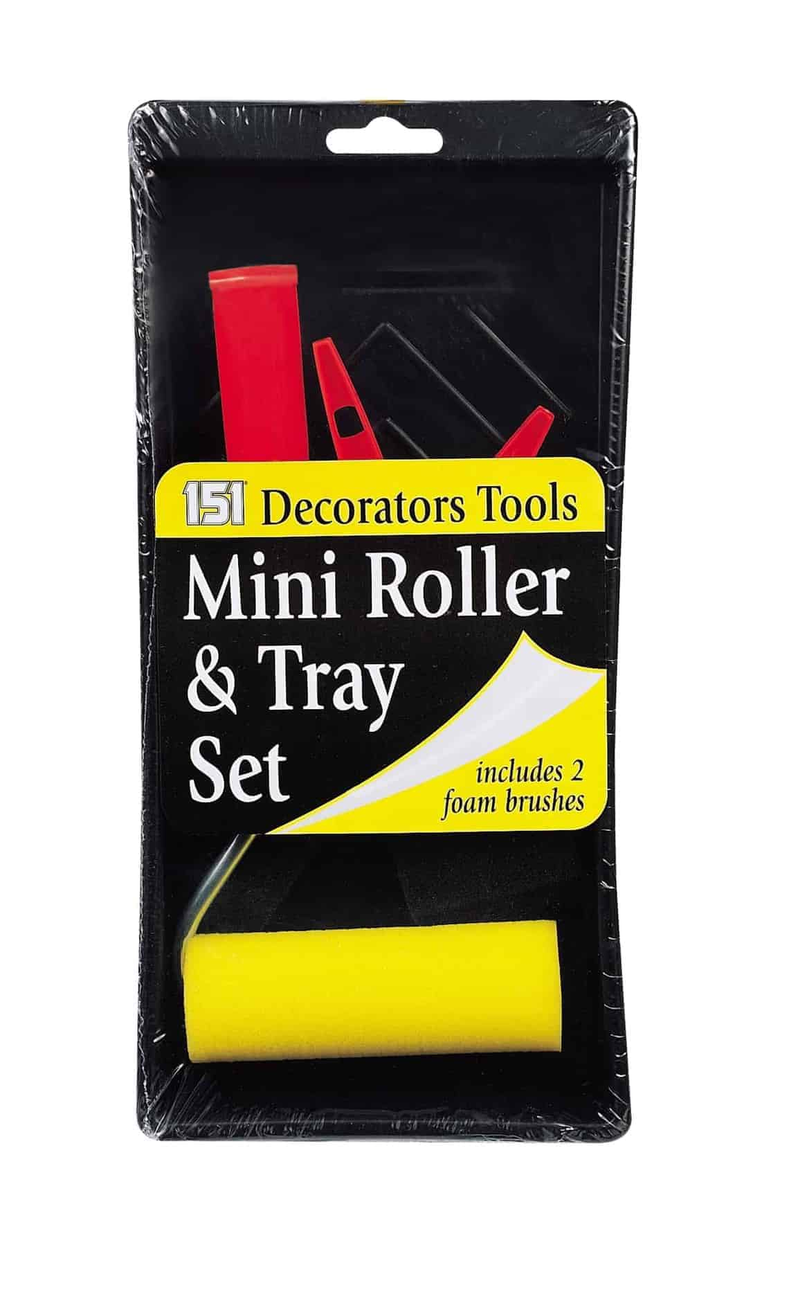 151 Products Mini Roller and Tray Set
