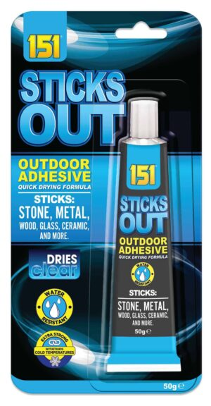 Outside Glue (Sticks Out) 50G
