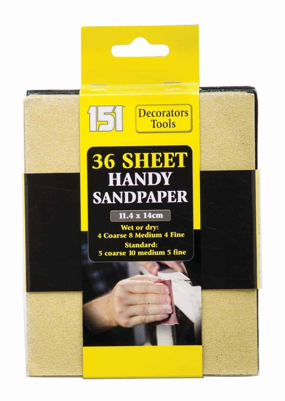 151 Products Sandpaper-36Pk