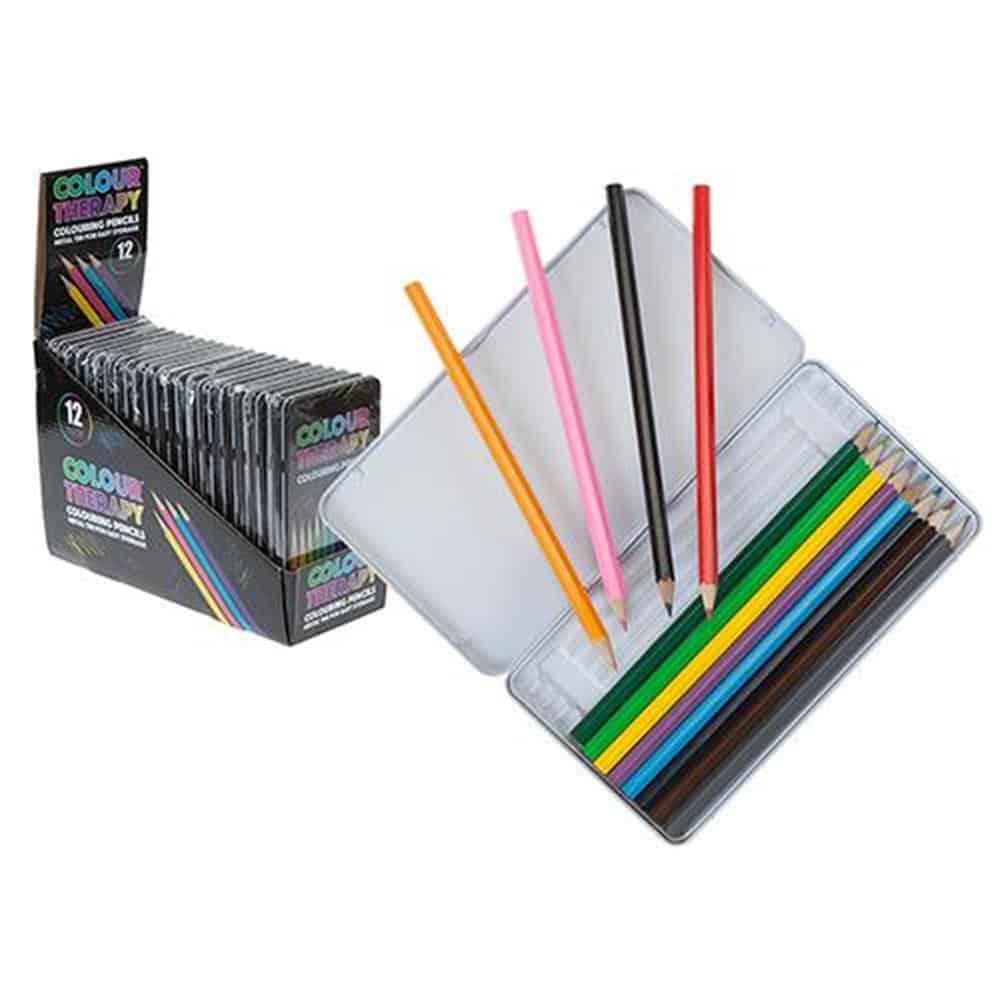 Colour Therapy 10Pce Pencils