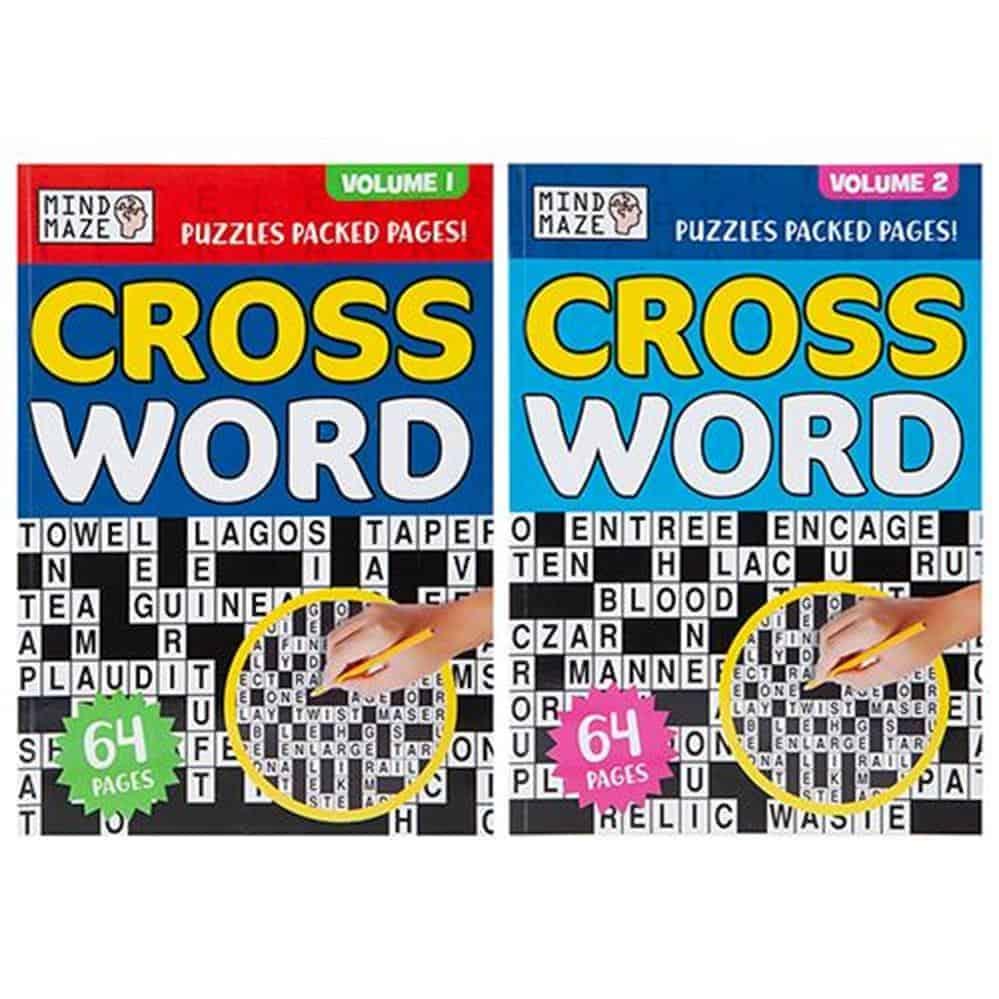 A4 Bumper Crossword Puzzle Book
