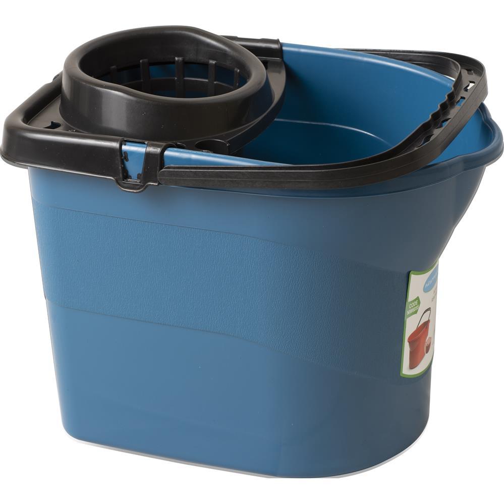 Mop Bucket With Wheels - 13 Lt
