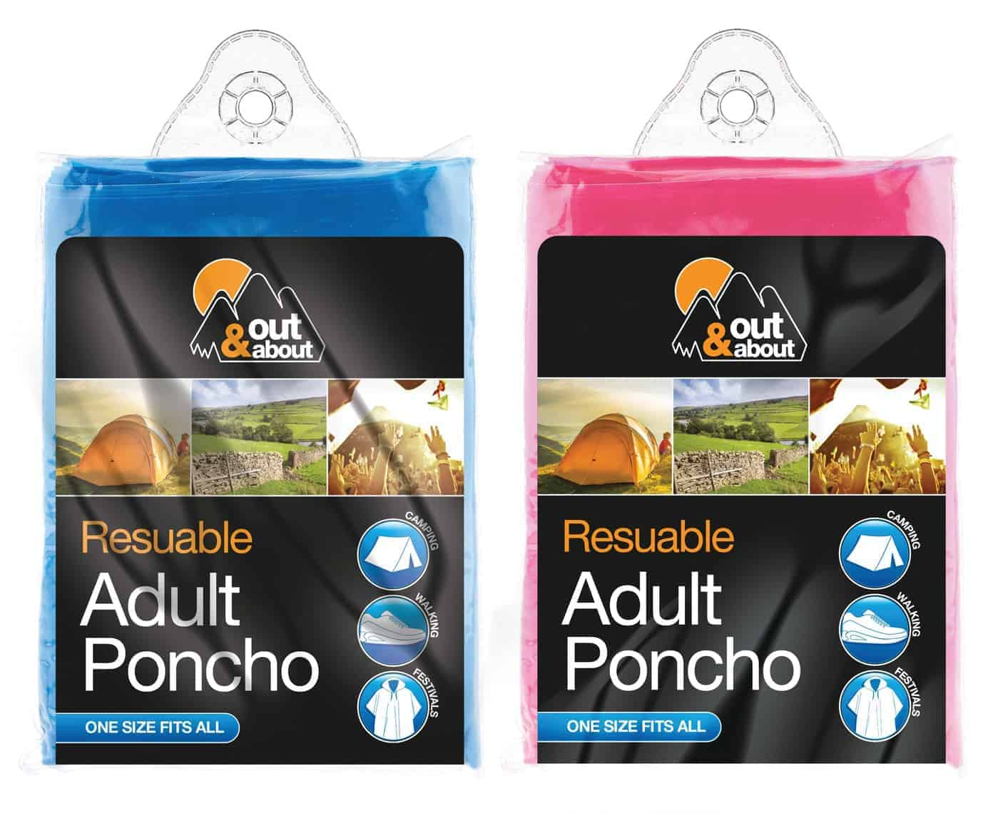 Out and About Adult Poncho