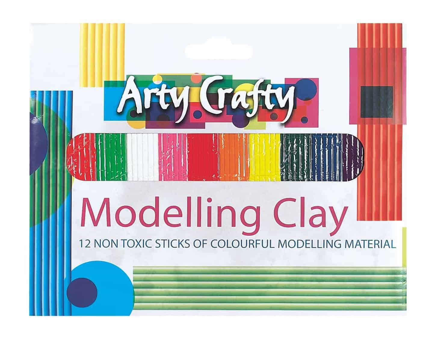 Arty Crafty Large Modelling Clay
