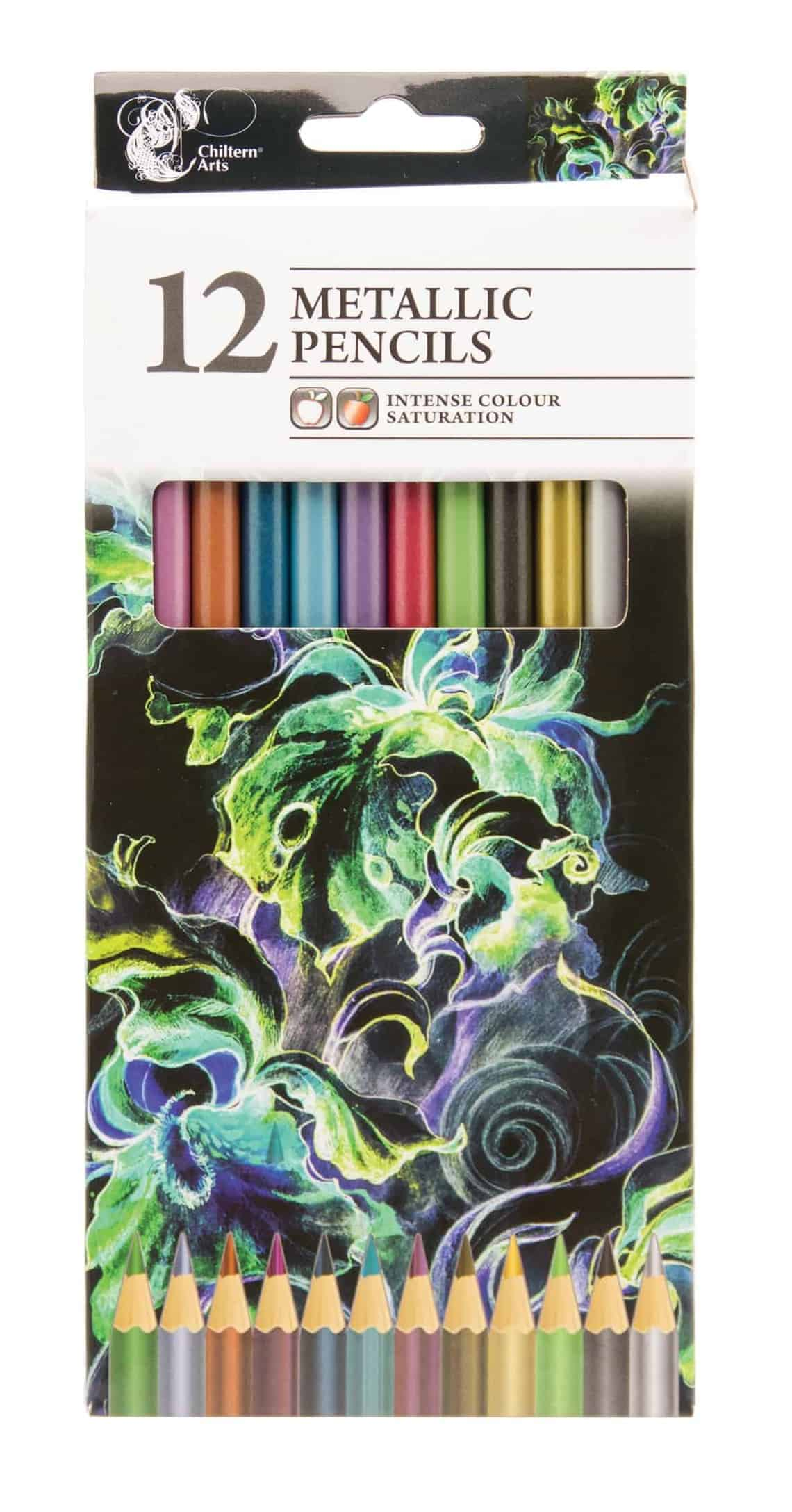 Chiltern Wove 12Pk Metallic Pencils