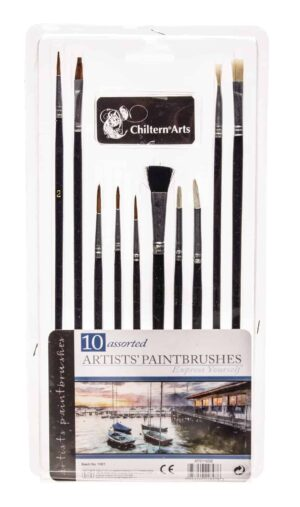 10pk Artist Paintbrushes