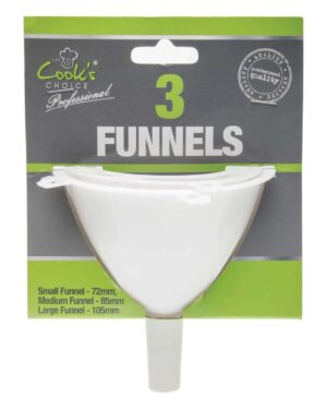 Cooks Choice 3pk Funnels