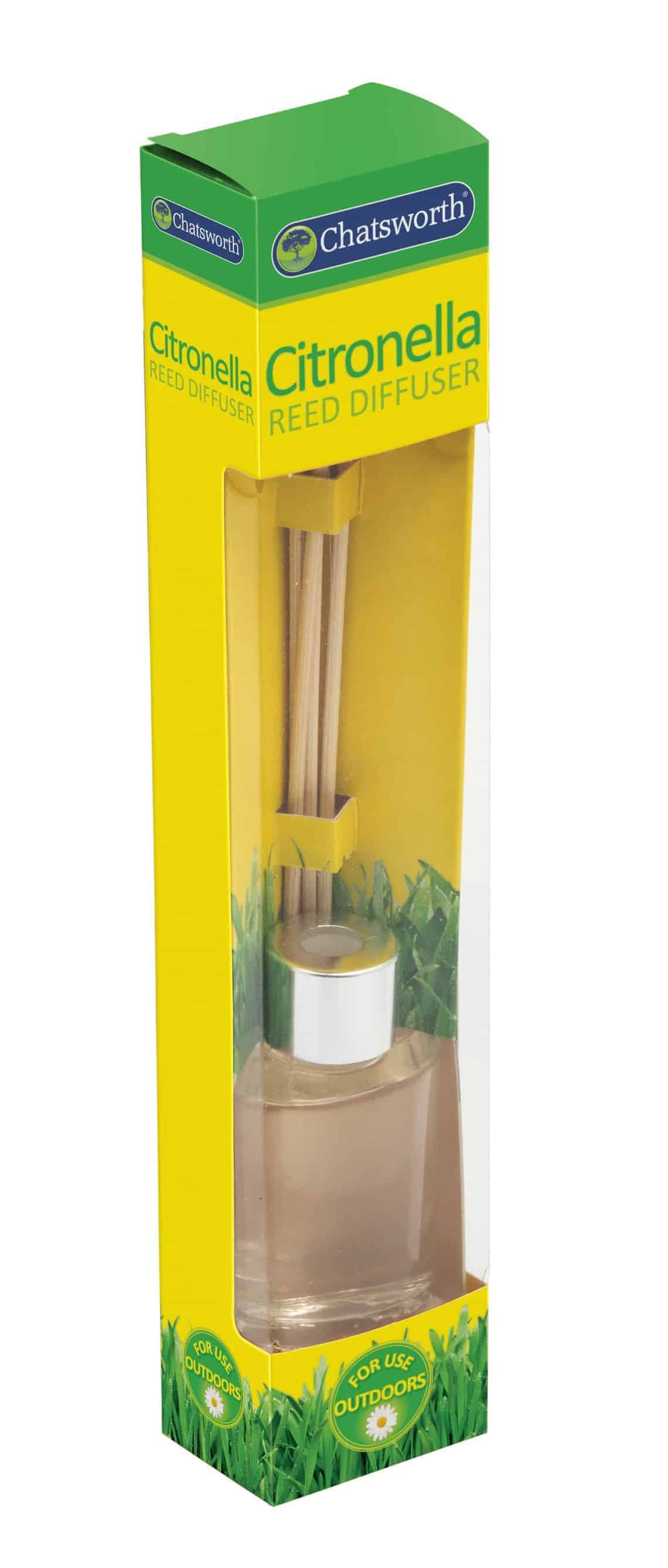 Chatsworth Reed Diffuser-Citronella 30Ml