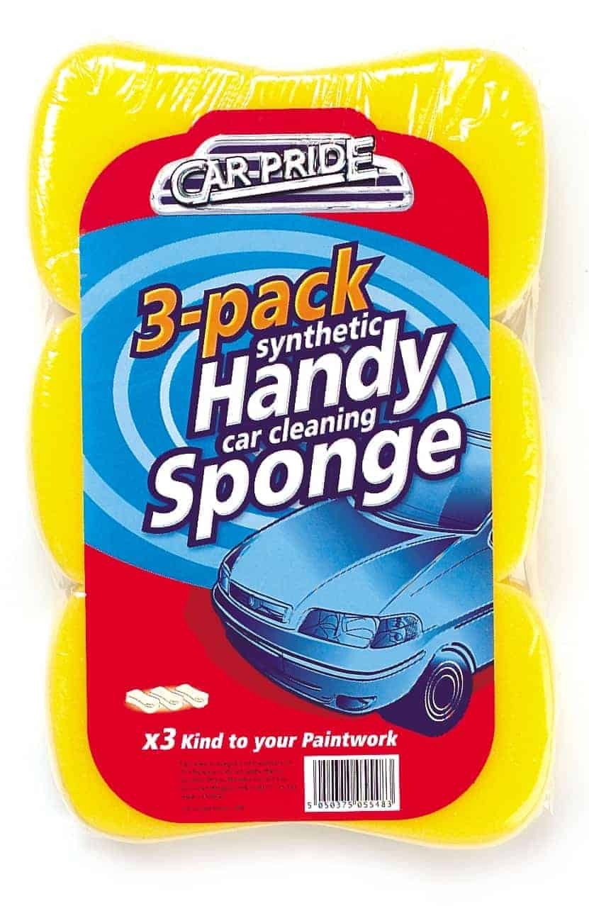 Carpride 3 Pack Handy Sponges