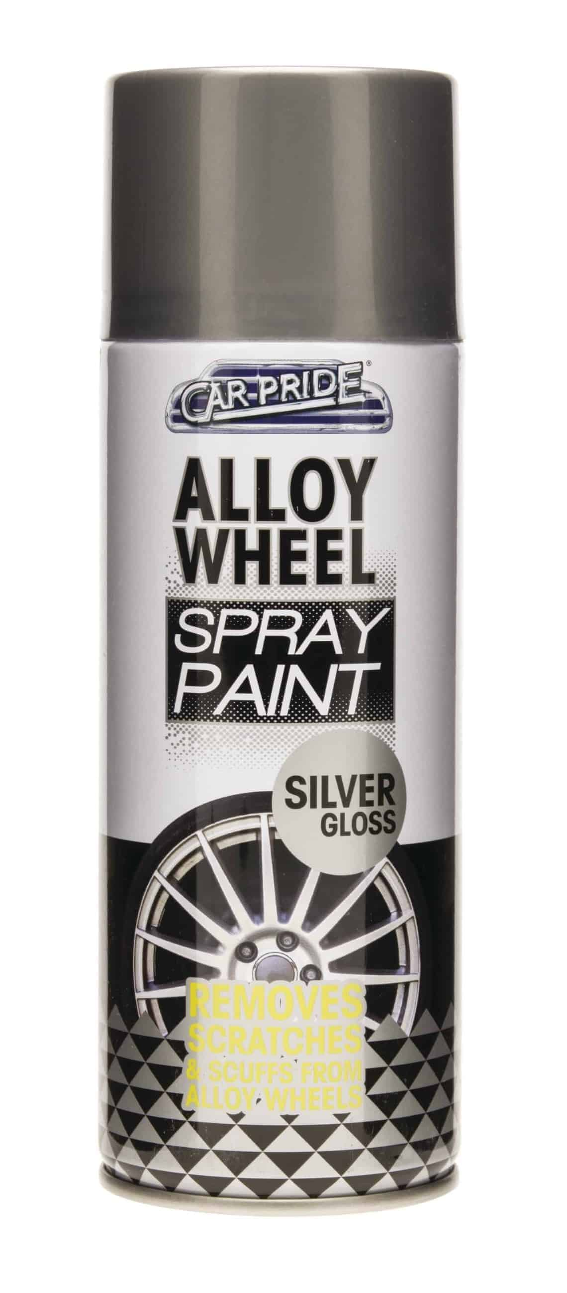 Car Pride 400Ml Alloy Wheel Spray Silver Gloss