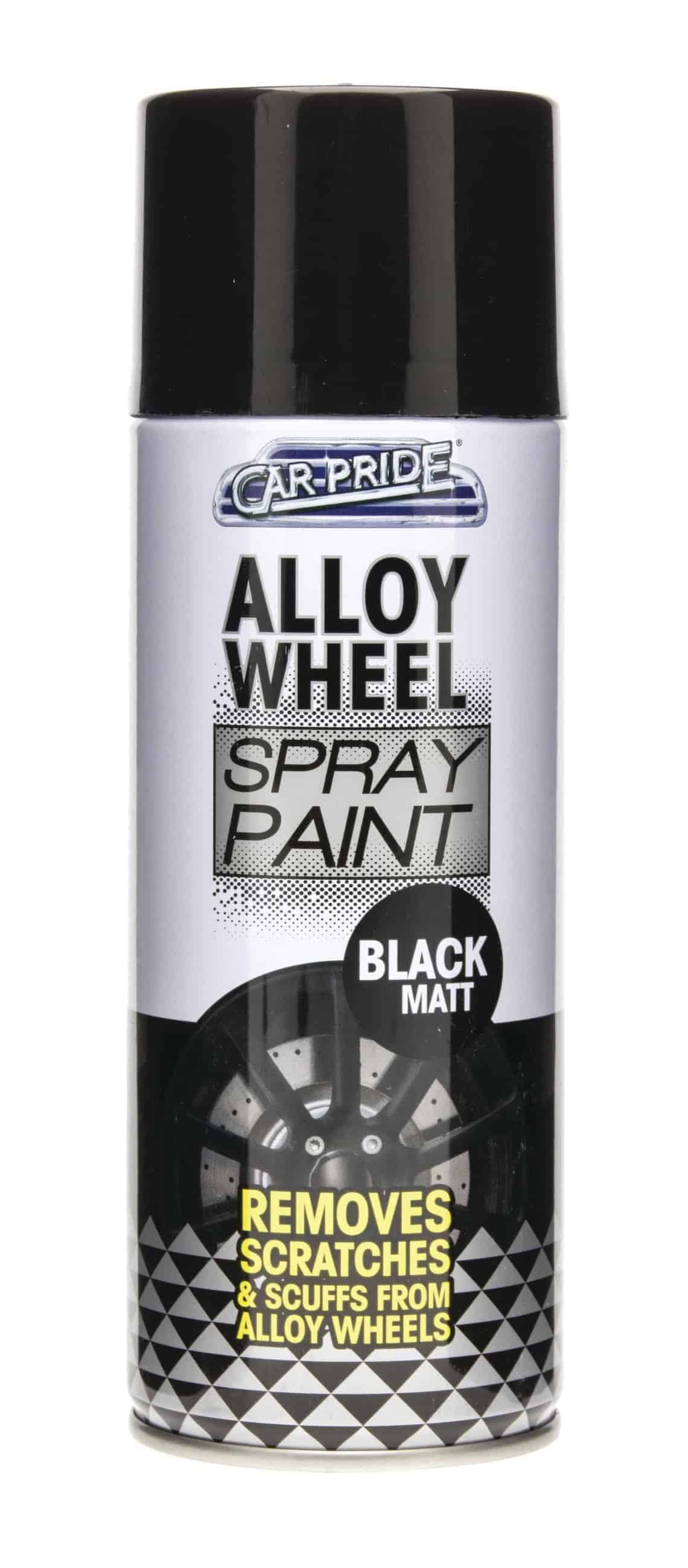 Car Pride 400Ml Alloy Wheel Spray Black Matt