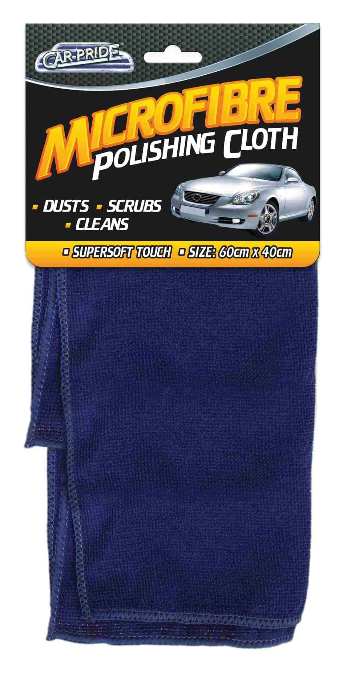 Car Pride Microfibre Polish Cloth