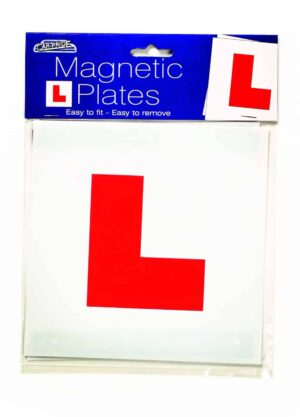 "Car Pride ""L"" Plates (Learner Plates)"