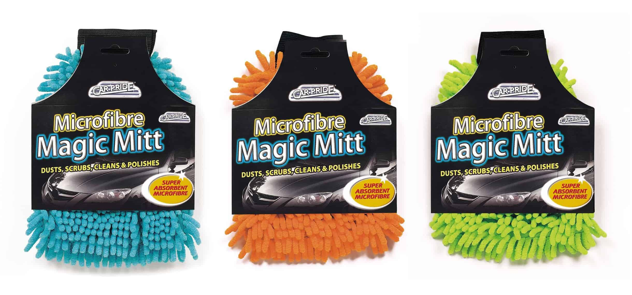 Carpride Assorted Micro Fibre Magic Mitt