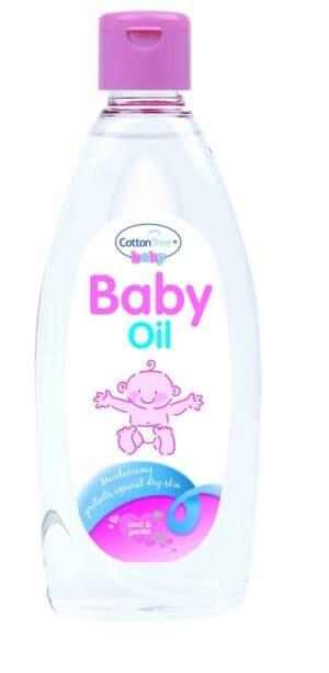 Cotton Tree Baby Oil-355 Ml