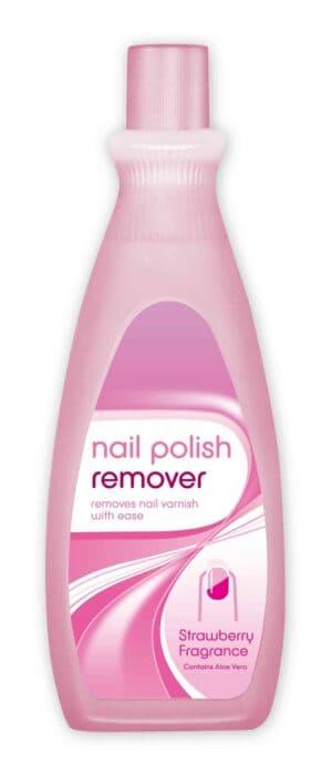 Cotton Tree Strawberry Nail Polish Remover