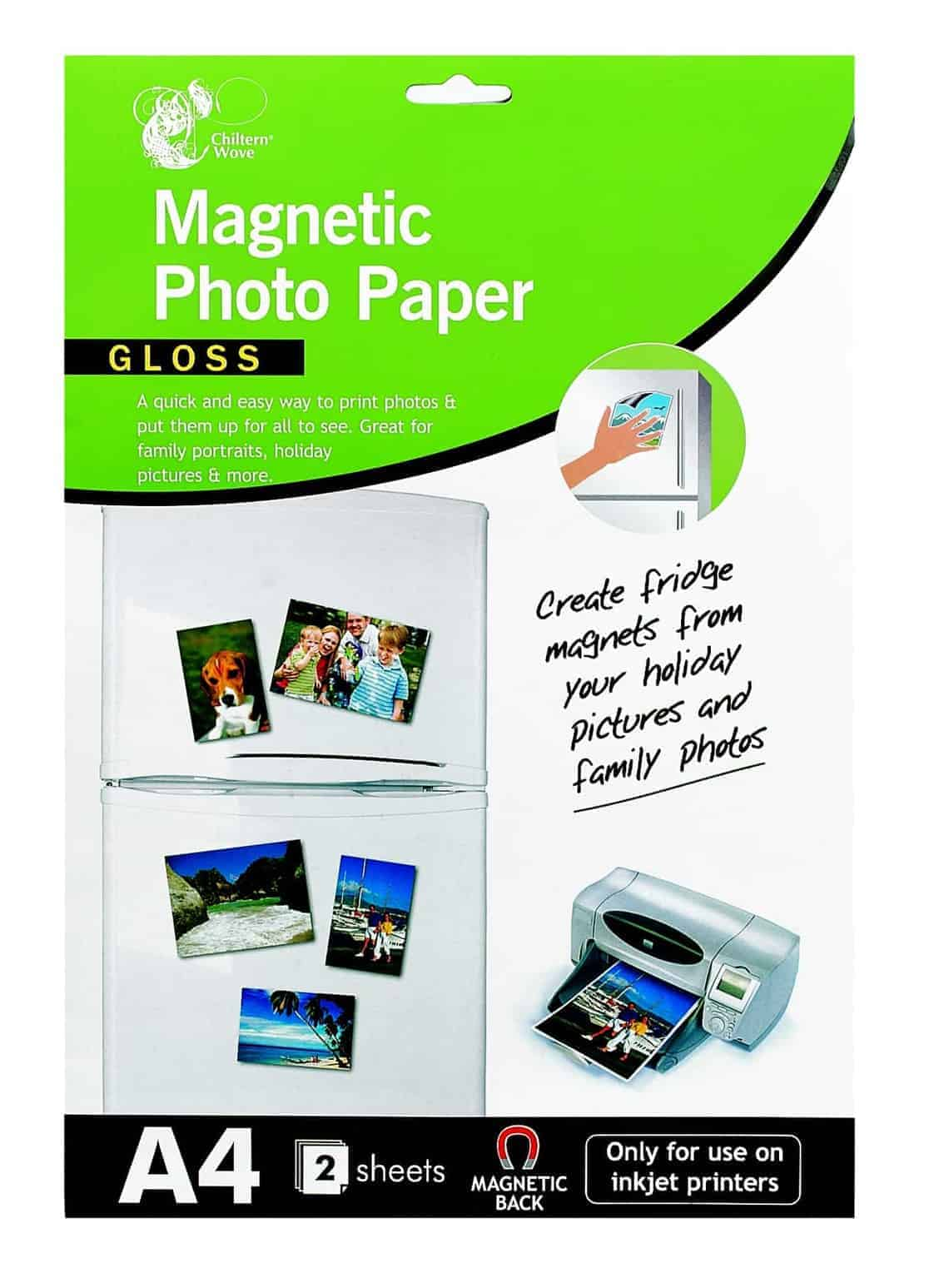 Chiltern Wove A4 Magnetic Photo Paper (Gloss)