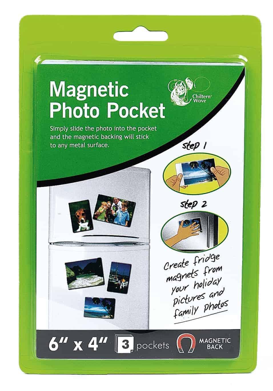 Chiltern Stationery 3pk Magnetic Photo Pockets
