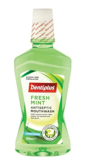 Dentiplus Mouthwash-500Ml Freshmint
