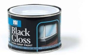 151 Products Non-Drip Black Gloss Paint