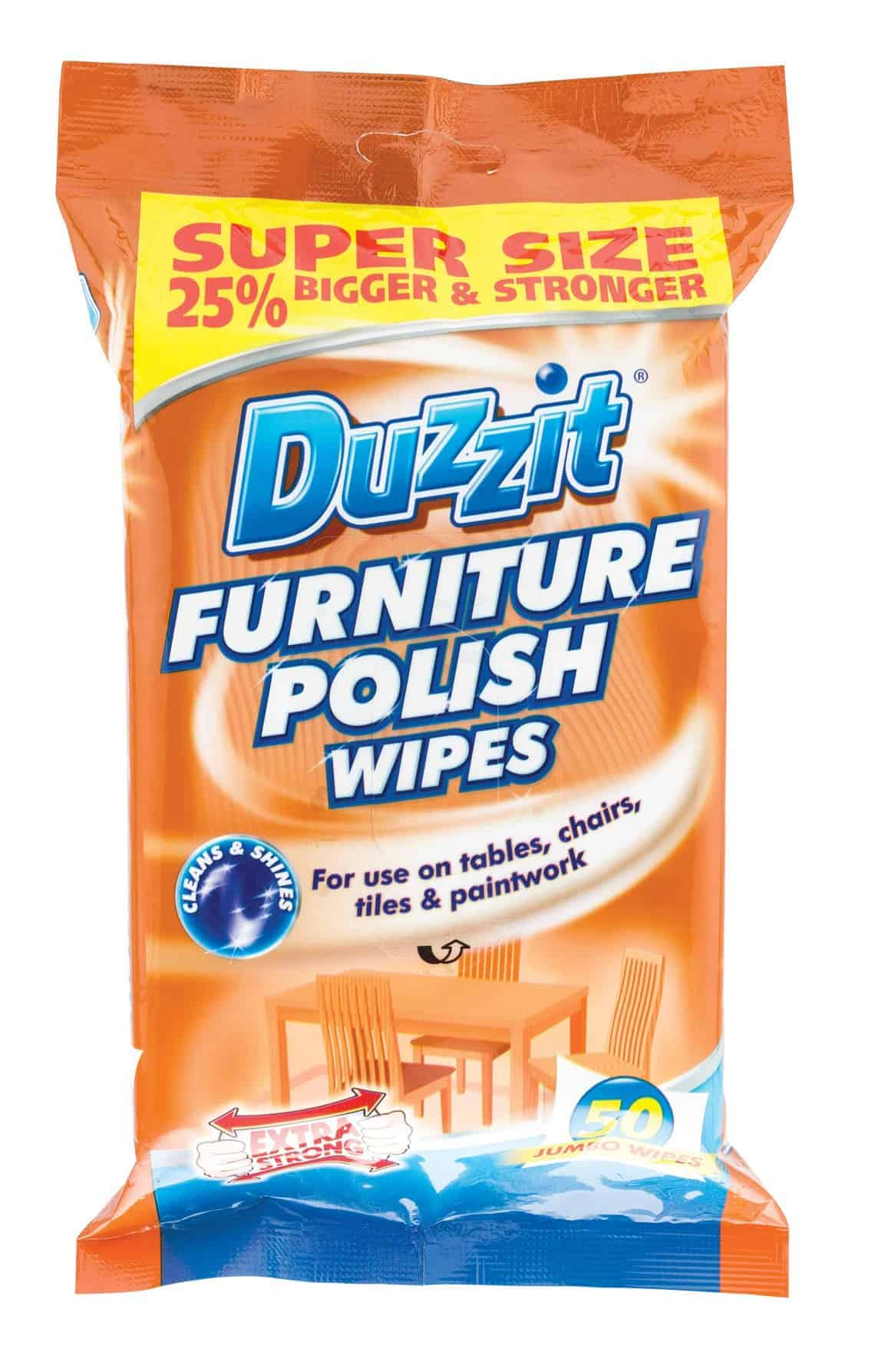 Duzzit Furniture Wipes-50Pk