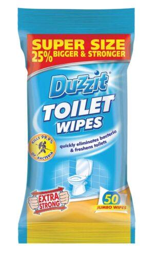 Duzzit Toilet Wipes-Duzzit-50Pk