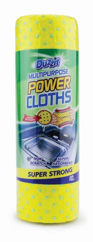 Duzzit Duzzit Abrasive Cloths-10Pk