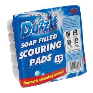 Duzzit Soap Filled Pads-Duzzit-15Pk