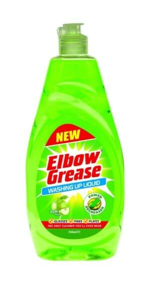 Duzzit Elbow Grease Washing Up Liquid Apple 740Ml