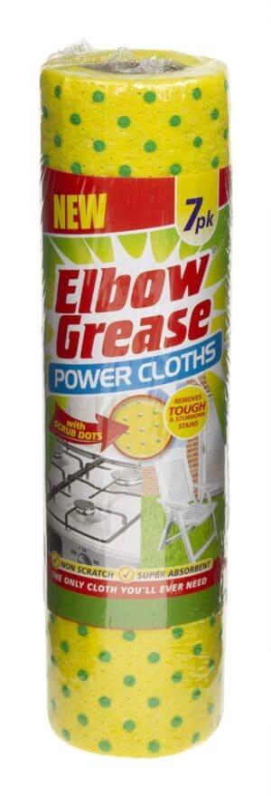 Elbow Grease Power Cloths 7Pk