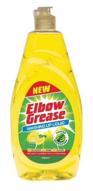 740Ml Elbow Grease Washing Up Liquid