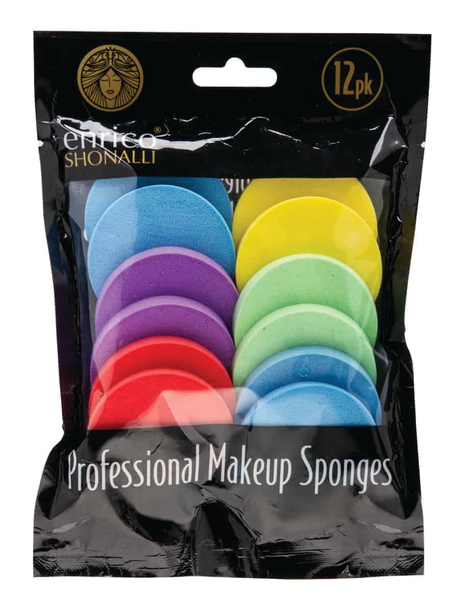 Enrico 12Pk Round Makeup Sponges