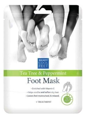 Escenti Escenti Cool Feet Tea Tree & Peppermint Foot Mask