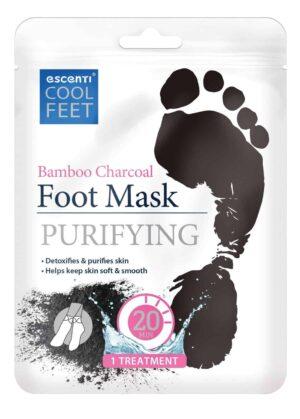 Escenti Cool Feet Bamboo Charcoal Foot Mas