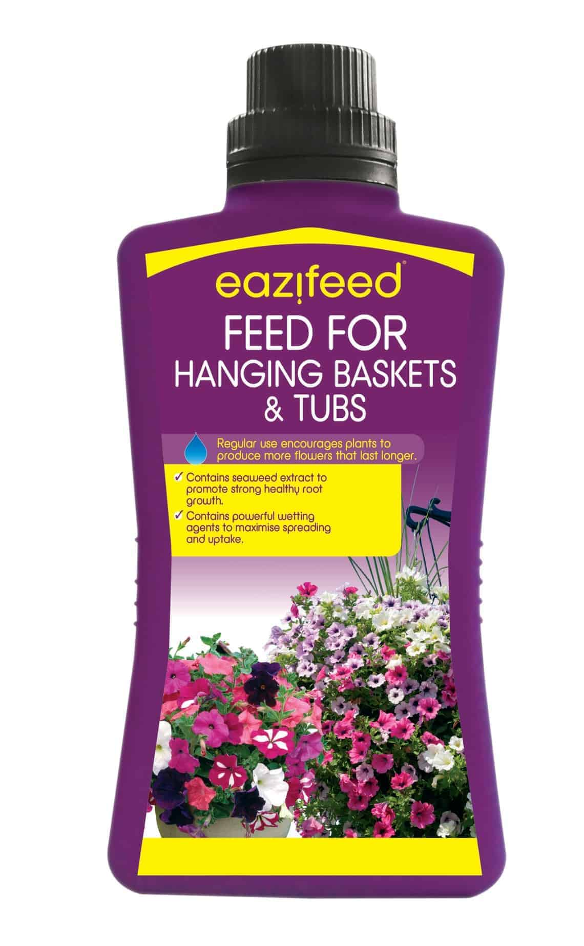 EaziFeed Hanging Baskets and Tubs Feed
