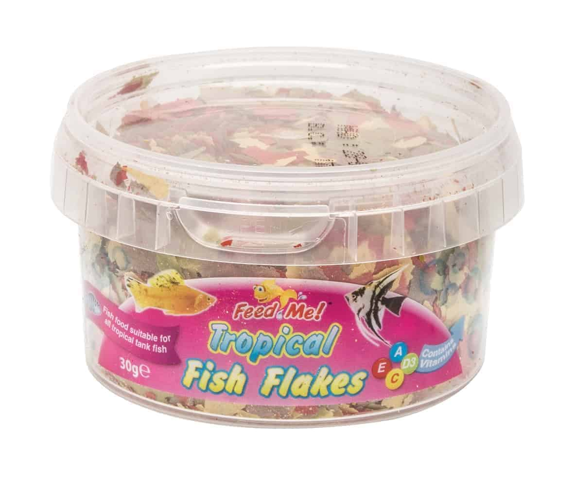Feed Me Tropical Fish Flakes
