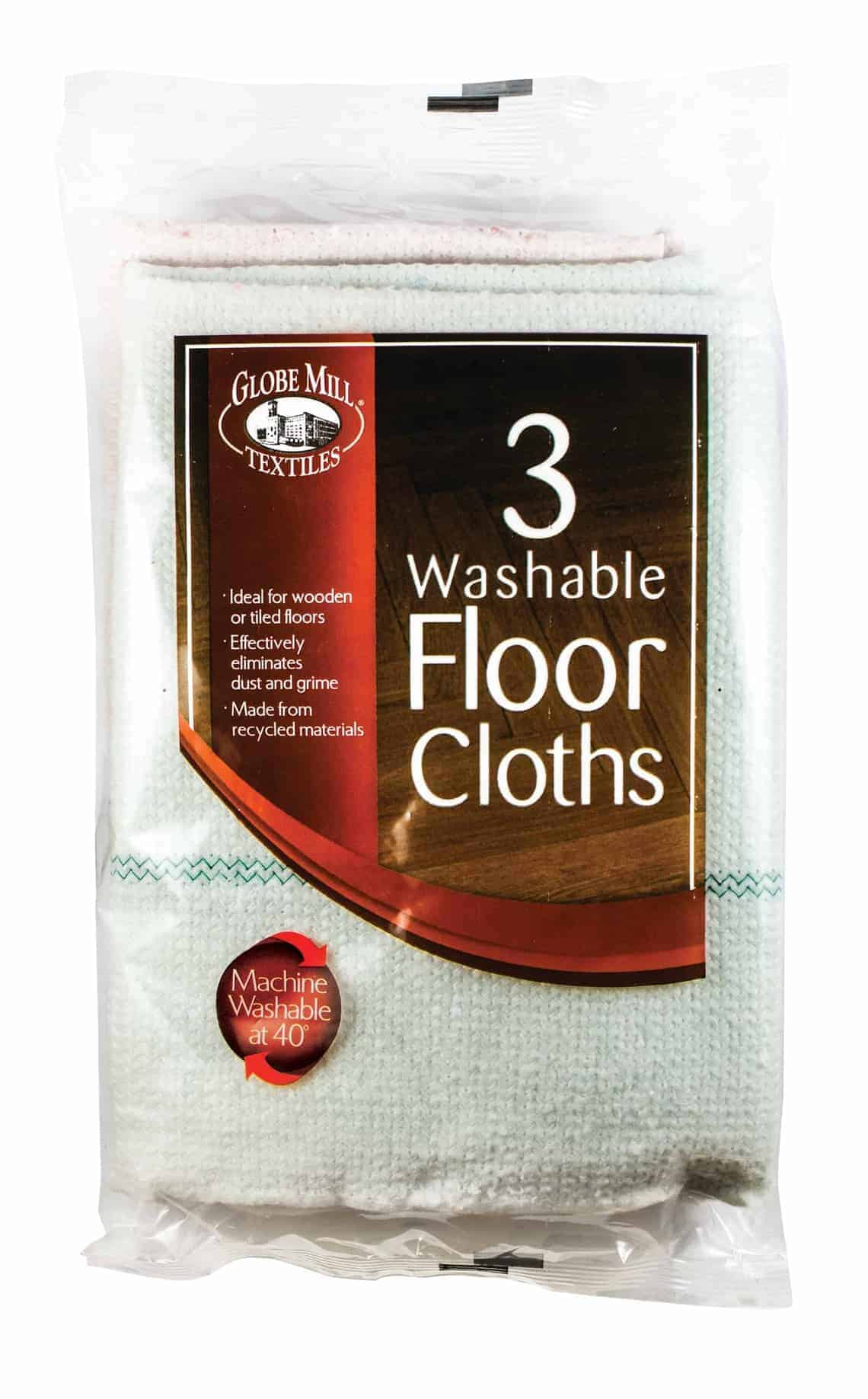 Globe Mill 3pk Floor Cloths