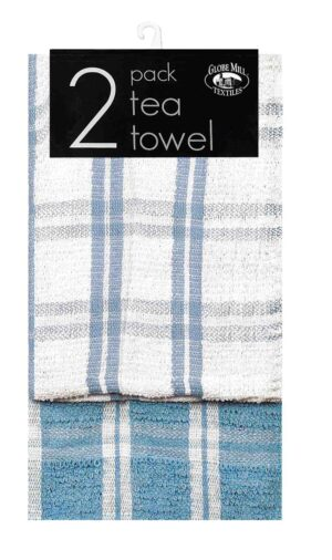 Globe Mill 2pk Assorted Tea Towels