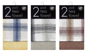 Globe Mill 2pk Honeycomb Tea Towels