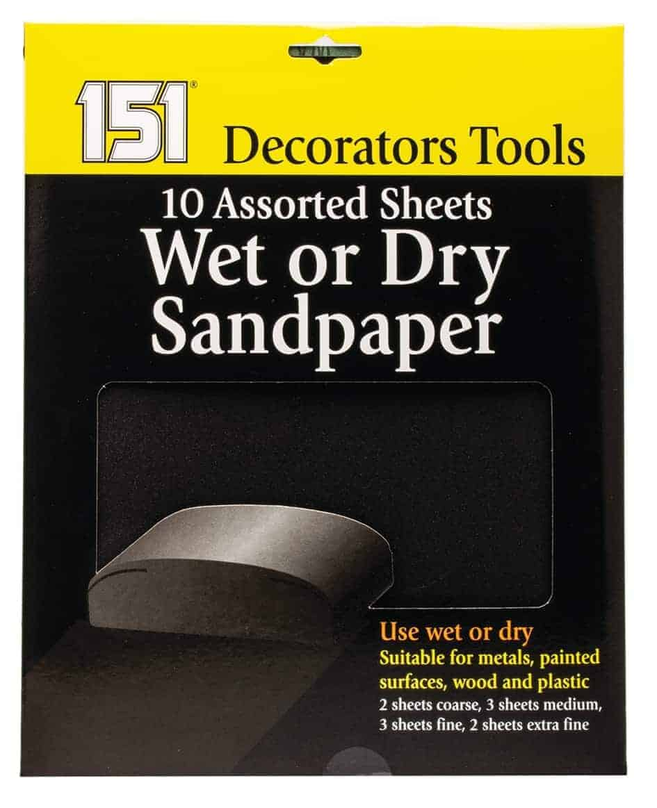 151 Products  10Pk Wet And Dry Sandpaper
