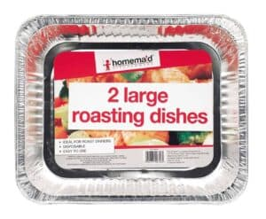 Home Maid 2piece Foil Roast Dishes