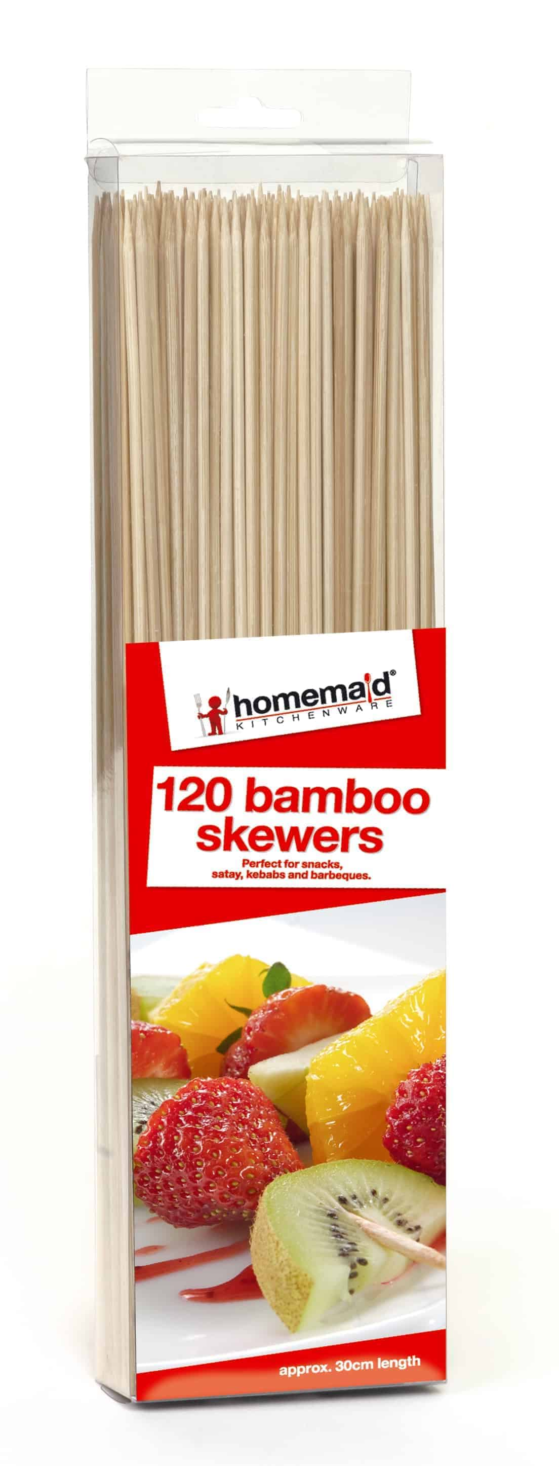 Home Maid 120pk Bamboo Skewers